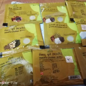 Patanjali divya bhasma for cold and cough review