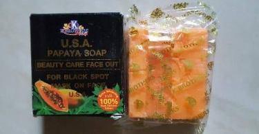 K Brothers Papaya Soap