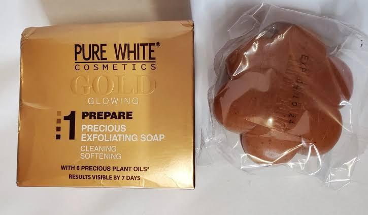 Pure White Gold Soap