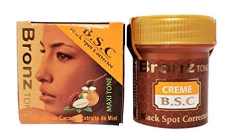Bronze Tone BSC Face Cream