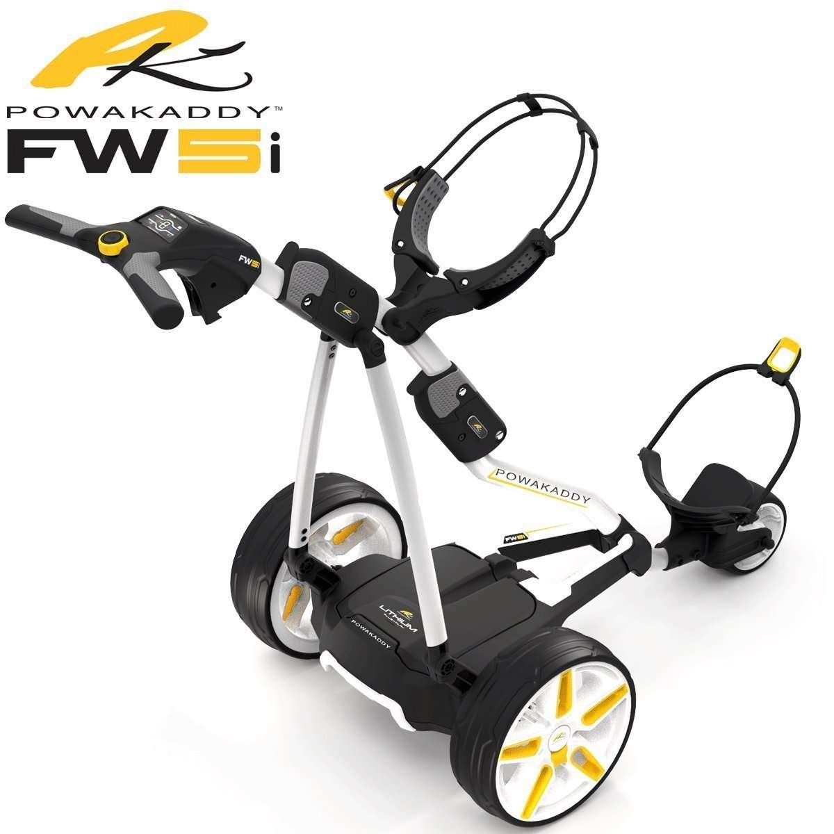 Best Electric Golf Trolleys - Powakaddy FW5i - Reviews Fire