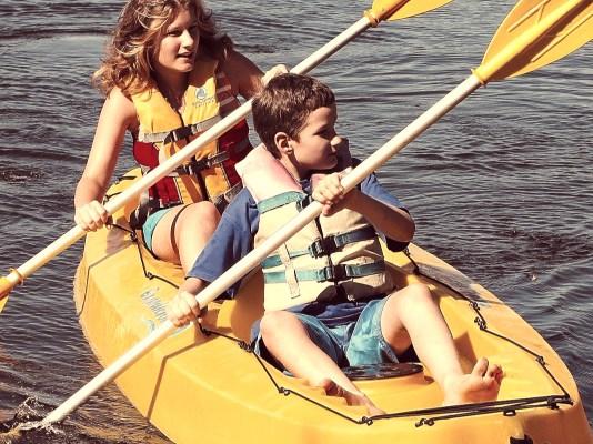 Paddle-a-Tandem-Kayak