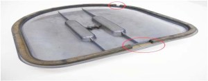 filter panel gasket