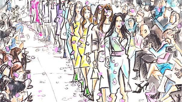 London Fashion Week and sized women protest…