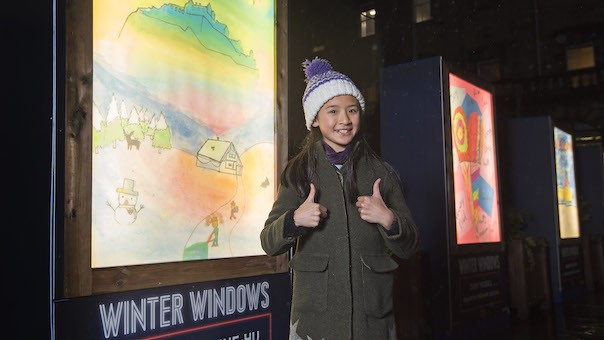 Winter Windows ART project back for Edinburgh Christmas 2019 • reviewsphere
