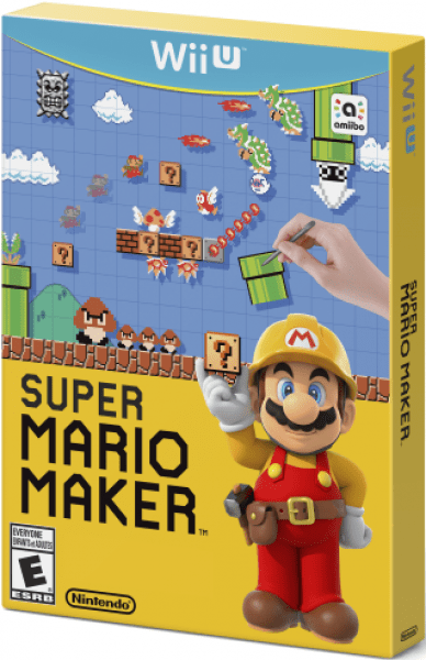 Super Mario Maker (Nintendo Wii U Video Game)