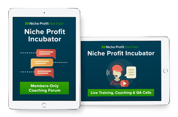 THE NICHE PROFIT INCUBATOR PROGRAM