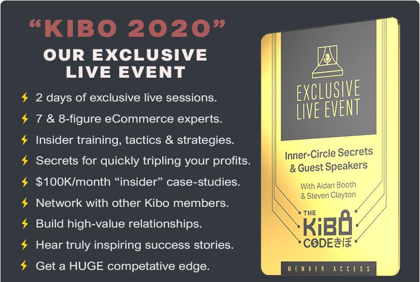 Kibo 2020 Live Event