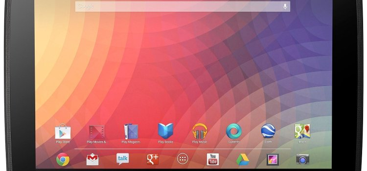 Google Nexus 10 Android Tablet, Android 4.2 Jelly Bean, Dual-Core A15 processor, Wi-Fi only