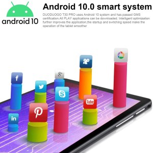DUODUOGO 10-inch Android Tablet, Android 10