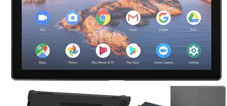 2021 YIER 10-inch Android Tablet with Keyboard