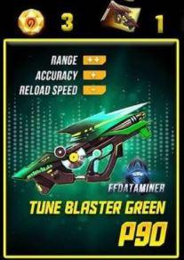 Skin Incu P90 Green