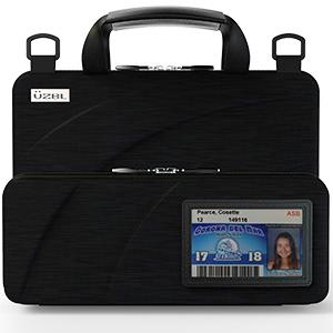 11 inch laptop case with id card