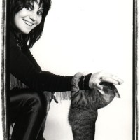Joan Jett with a Cat