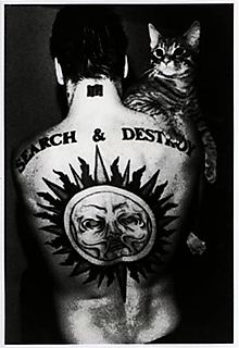 Henry Rollins With a Cat