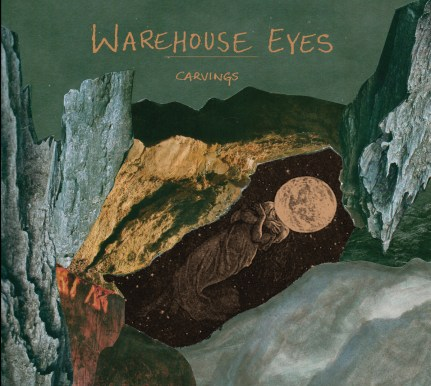 warehouse eyes carvings