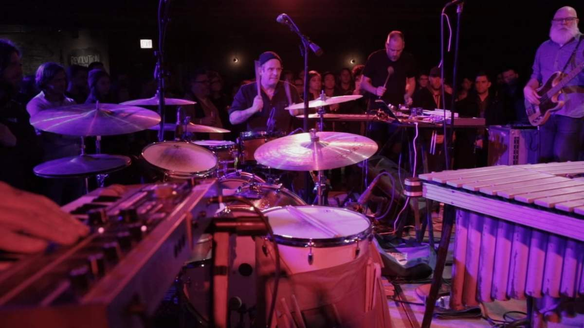 Watch a live video from Tortoise's New Album (Show Wednesday!)