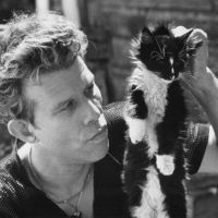 Music Legends With Cats: Tom Waits