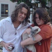 Music Legends With Cats: Eddie Van Halen