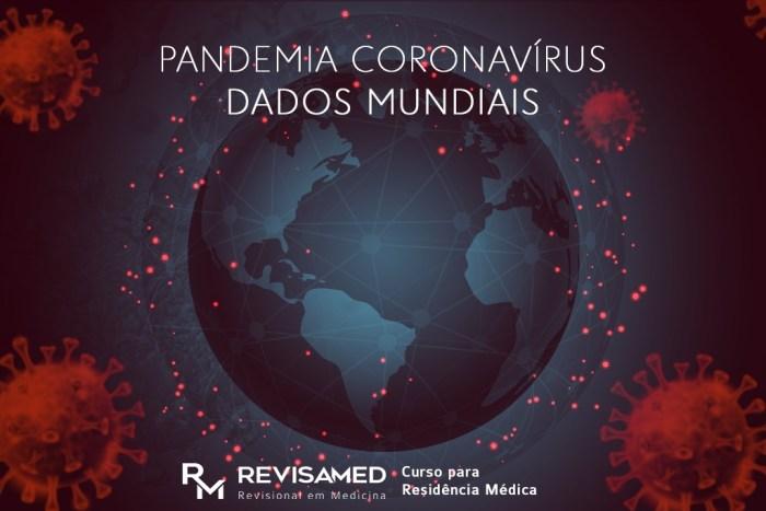 dados mundiais do novo coronavírus