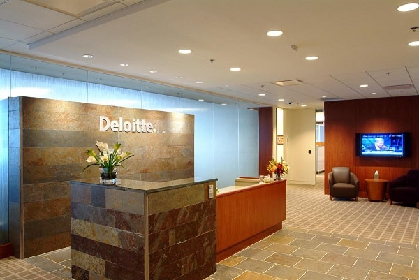 Deloitte and Touche are examples of a Partnership Business.