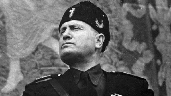 Il Duce. Benito Mussolini. Image by History.com