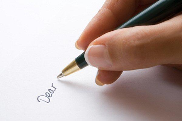Writing an Informal letter. Image by Josh Humbert