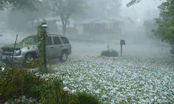 A hailstorm. Image via Riverfronttimes.