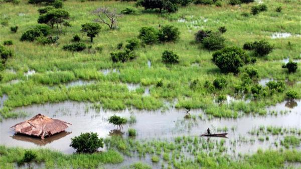 Zimbabwe receives most of its rainfall from the ITCZ. Image by Aljezeera.