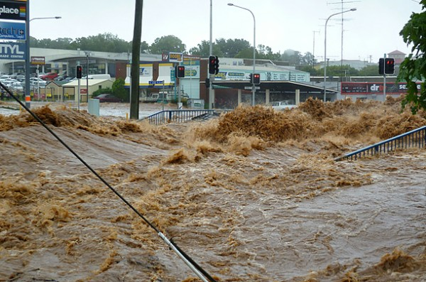 Floods in OZ. Image by Time.