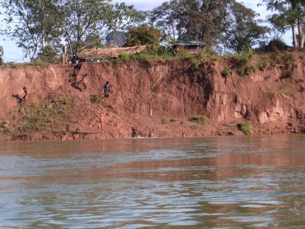 River erosion. Image credit Internationalarchives.org