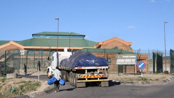 ZIMRA's bonded warehouse at Chirundu Border Post. Image credit zimboguide.co.zw