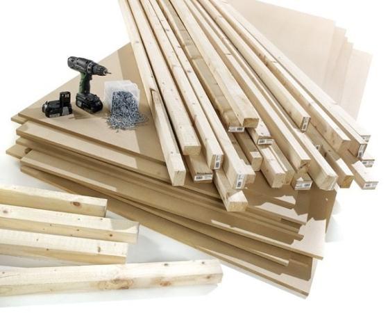A DIY Kit. Image credit 2020pv.co.uk