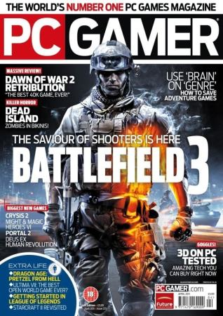 PC Gamer magazine. Image credit videogamerater.com
