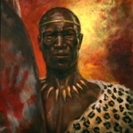 Tshaka the Zulu King(c1787-1828). Image credit myspace.com