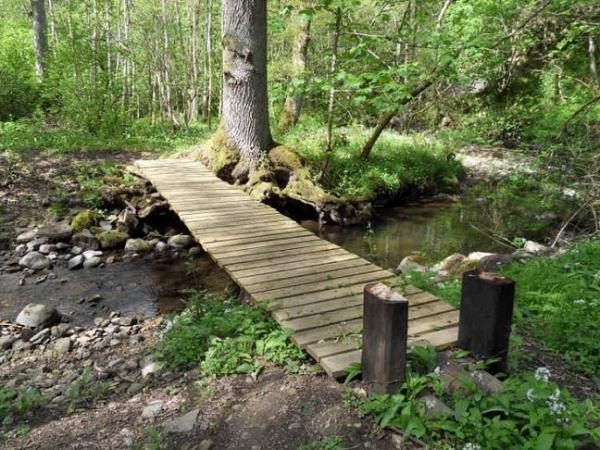 A simple bridge. Image credit pinimg.com