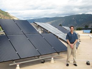Sunsense Solar-Commercial Solar Array at Berthod Motors, Glenwood Springs, CO