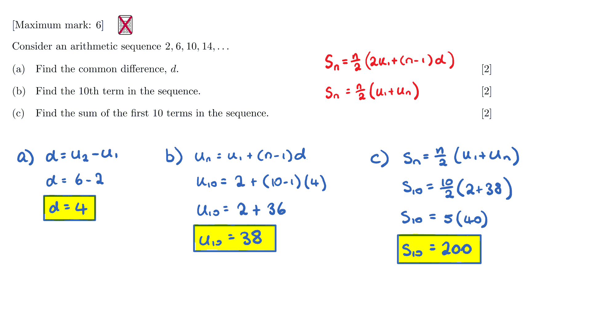 Ib Maths Sl Questionbank