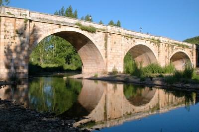 río Arlanza Covarrubias