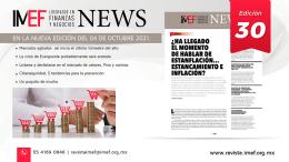 Estanflación, inflación, news 30 IMEF