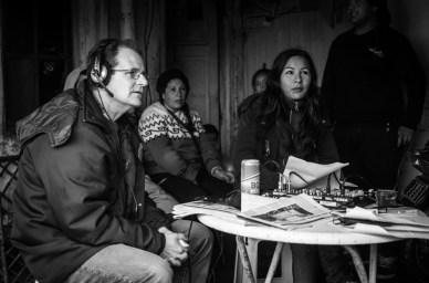 Alejandro Martínez, excandidato a intendente por el Frente de Trabajadores de Izquierda (FIT), fue entrevistado en un programa antes de las últimas elecciones. También pasaron Vilma Baragiola, actual secretaría de Desarrollo Social, y el por entonces jefe comunal, Gustavo Pulti.
