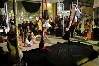 Muestra del Taller de Circo para niños.