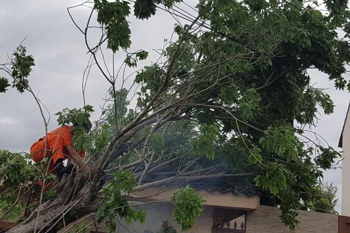 Sompo Porto Alegre temporal