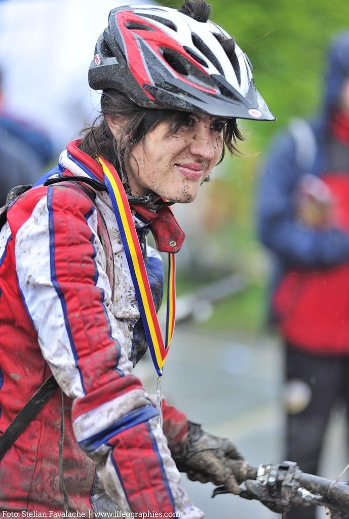 Roxana Lupu, concurs mountainbike, Prima Evadare, 2011, fotocredit Stelian Pavalache