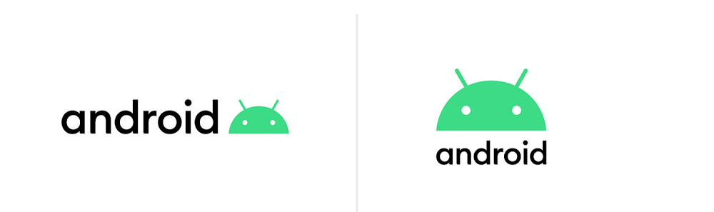 New Android logo