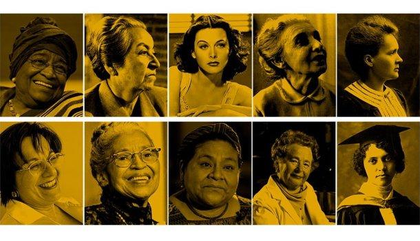 12 mulheres que mudaram os rumos da história