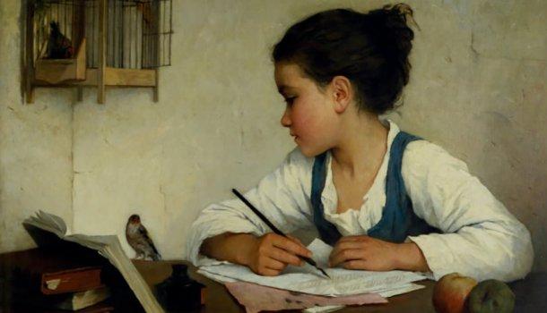 Não há declaração de amor maior do que receber uma carta escrita à mão