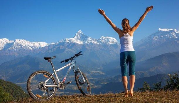 Uma mulher sem um homem é como um peixe sem uma bicicleta
