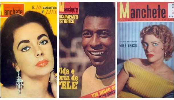 O acervo completo da revista Manchete disponível online