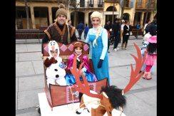 Familia 'Frozen'.
